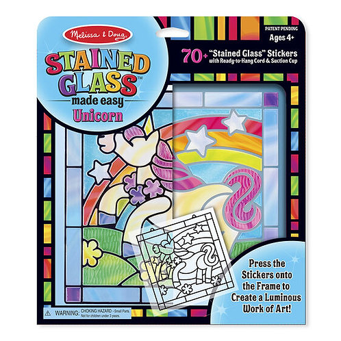 Stained Glass Made Easy Unicorn