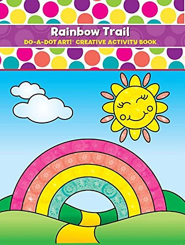 Do-A-Dot Rainbow Trail Coloring Book