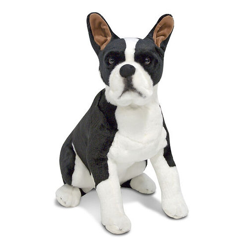 Boston Terrier Giant Plush