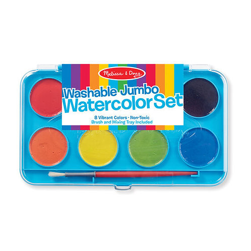 Washable Jumbo Watercolor Set