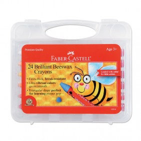24 Brilliant Beeswax Crayons