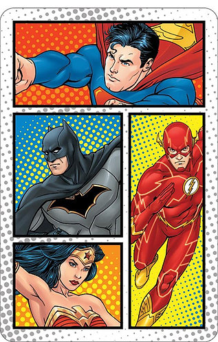 Justice League Comic Panels Pocket Notes