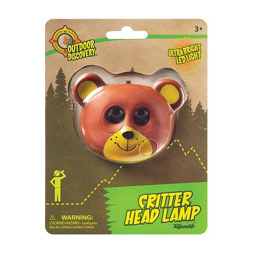 Critter Head Lamp Bear