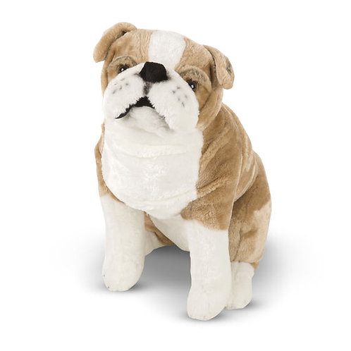 English Bulldog Giant Plush