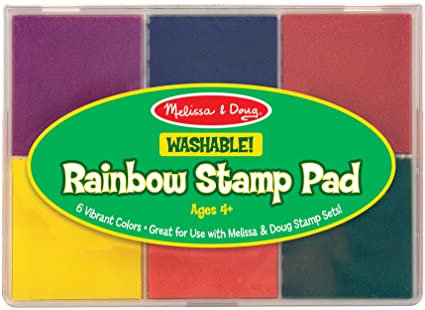 Washable Rainbow Stamp Pad