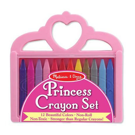Princess Crayon Set 12 Colors