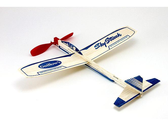 Balsa Wood Airplane Sky Streak