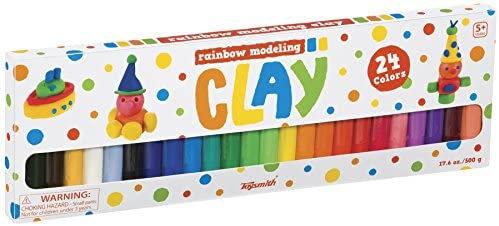 Rainbow Modeling Clay