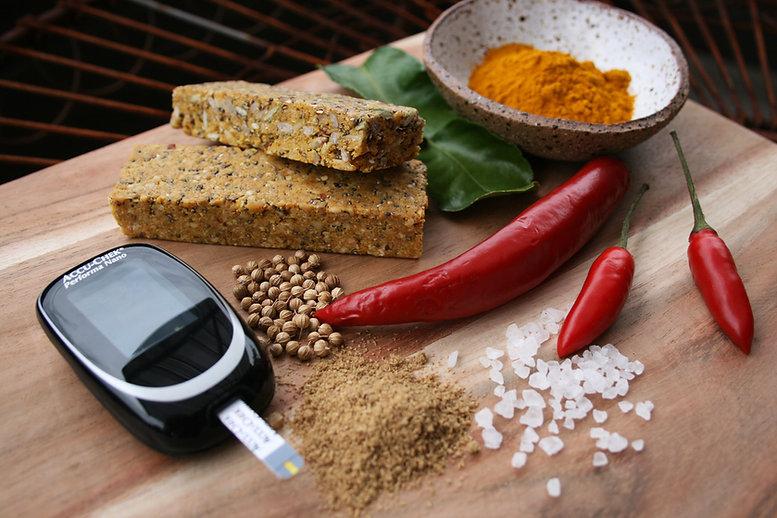 Diabetic Friendly Savoury Protein Bars