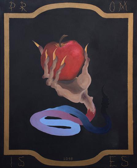 Promises,110x90cm, acrylic on canvas