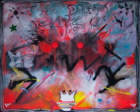 The Dream Eater, 160x200cm, acrylic on canvas