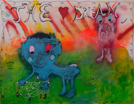 The Dream, 150x200cm, acrylic on canvas