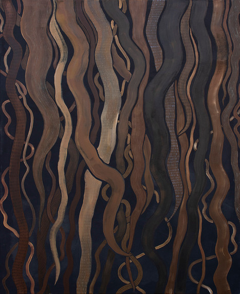 Hair, 160x120cm, acrylic on canvas