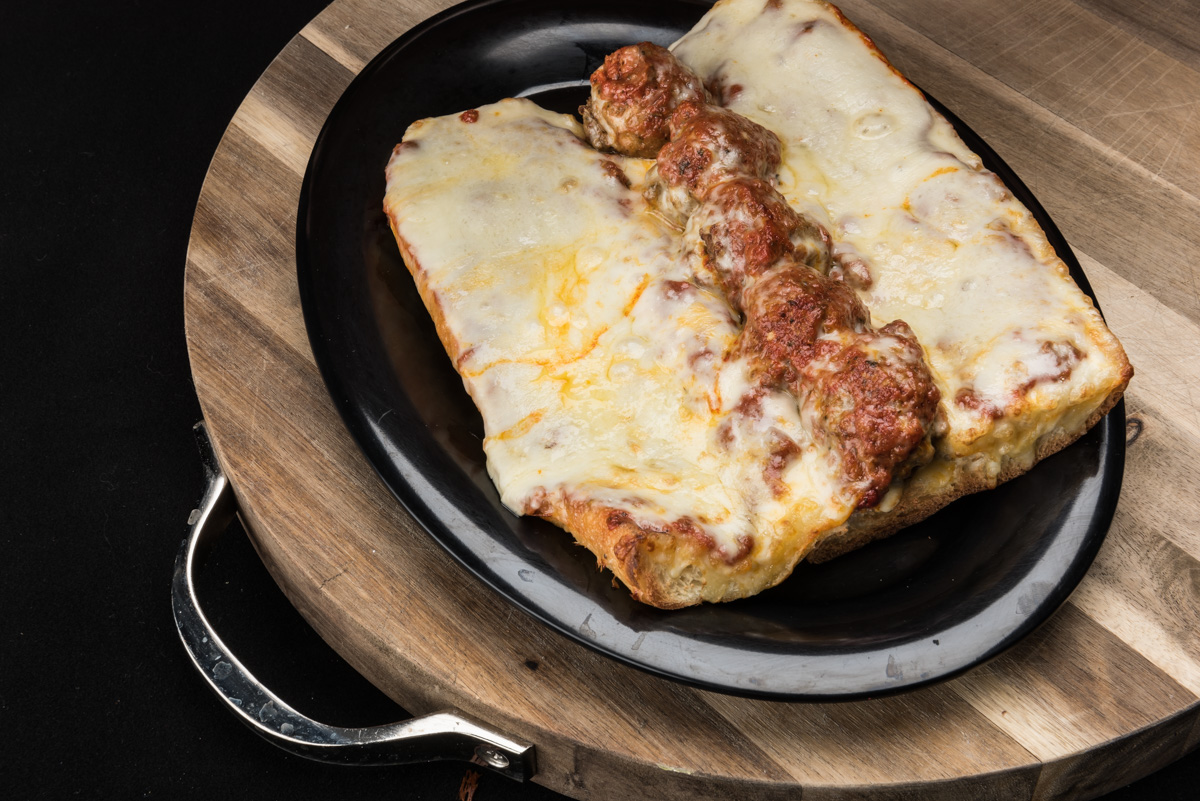 Italian Meatball Sandwich