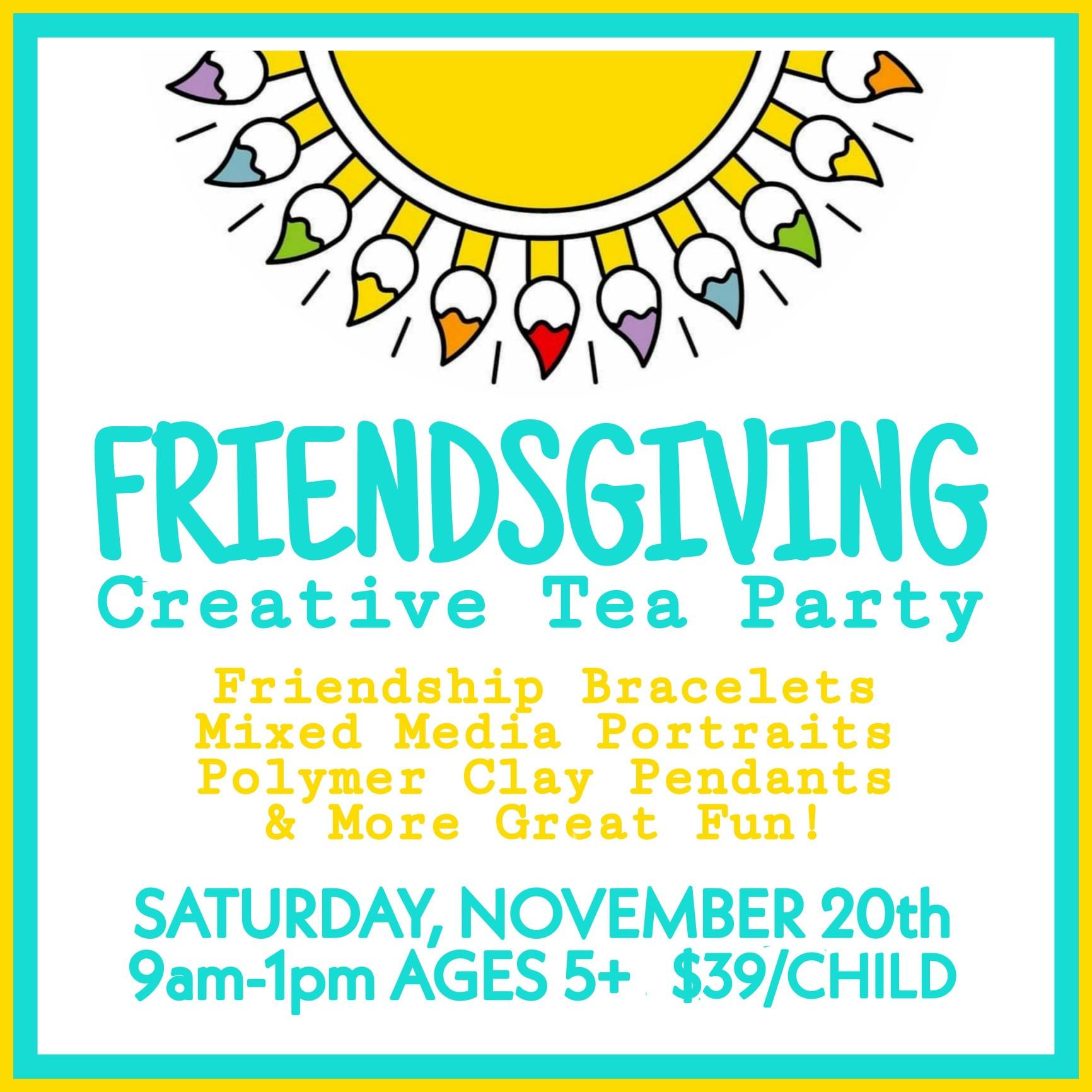 Friendsgiving Creative Tea Party