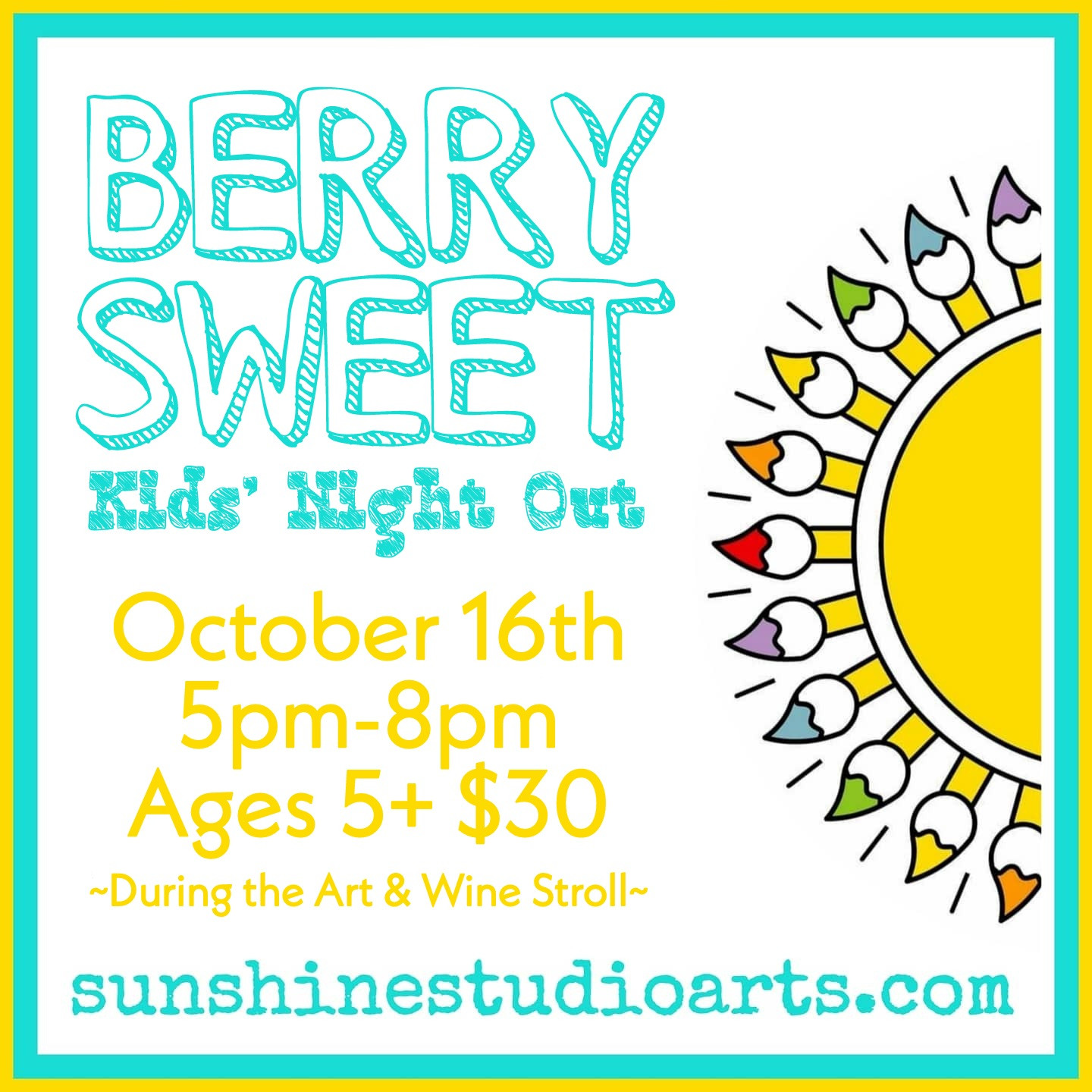 Berry Sweet Kids' Night Out