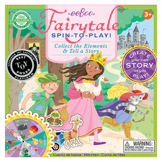 Spin-to-Play eeBoo Fairytale Game