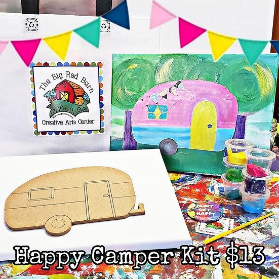 Happy Camper Canvas Kit