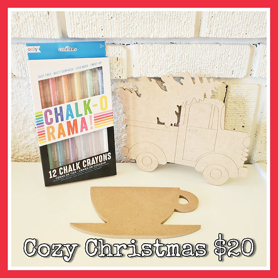 Cozy Christmas Chalk Combo
