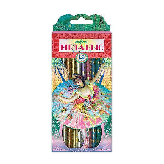 Degas Dancers Metallic Colored Pencils