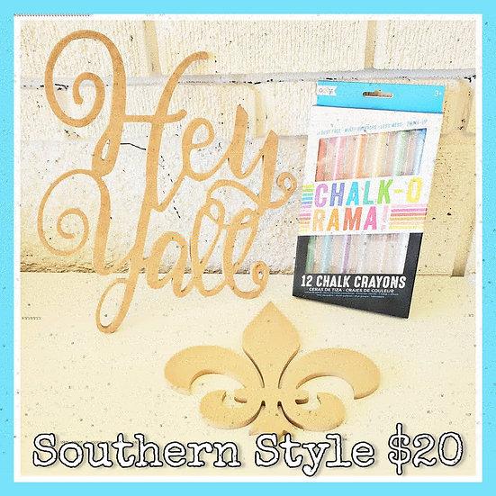 Southern Style Chalk Combo