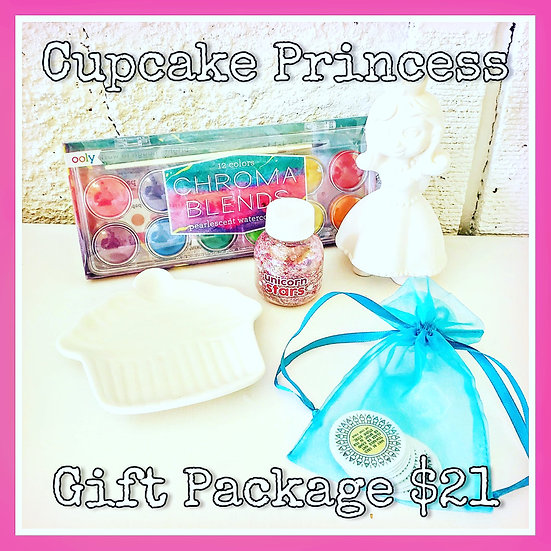 Cupcake Princess 🧁🎨👸 Gift Package