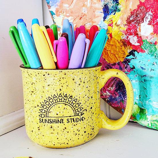 Cup-o-Sunshine! Sunshine Studio Signature Campfire Mug