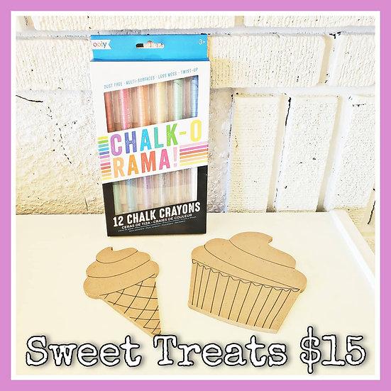 Sweet Treats Chalk Combo