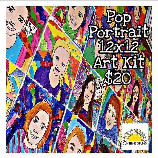 Pop Art Portrait Kit