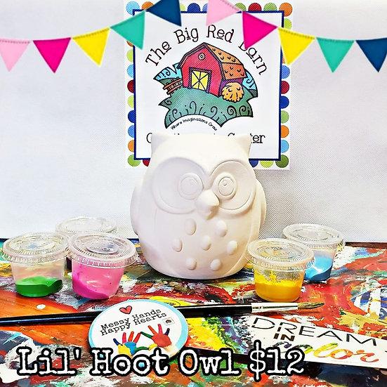 Lil' Hoot Owl Ceramic Art Kit