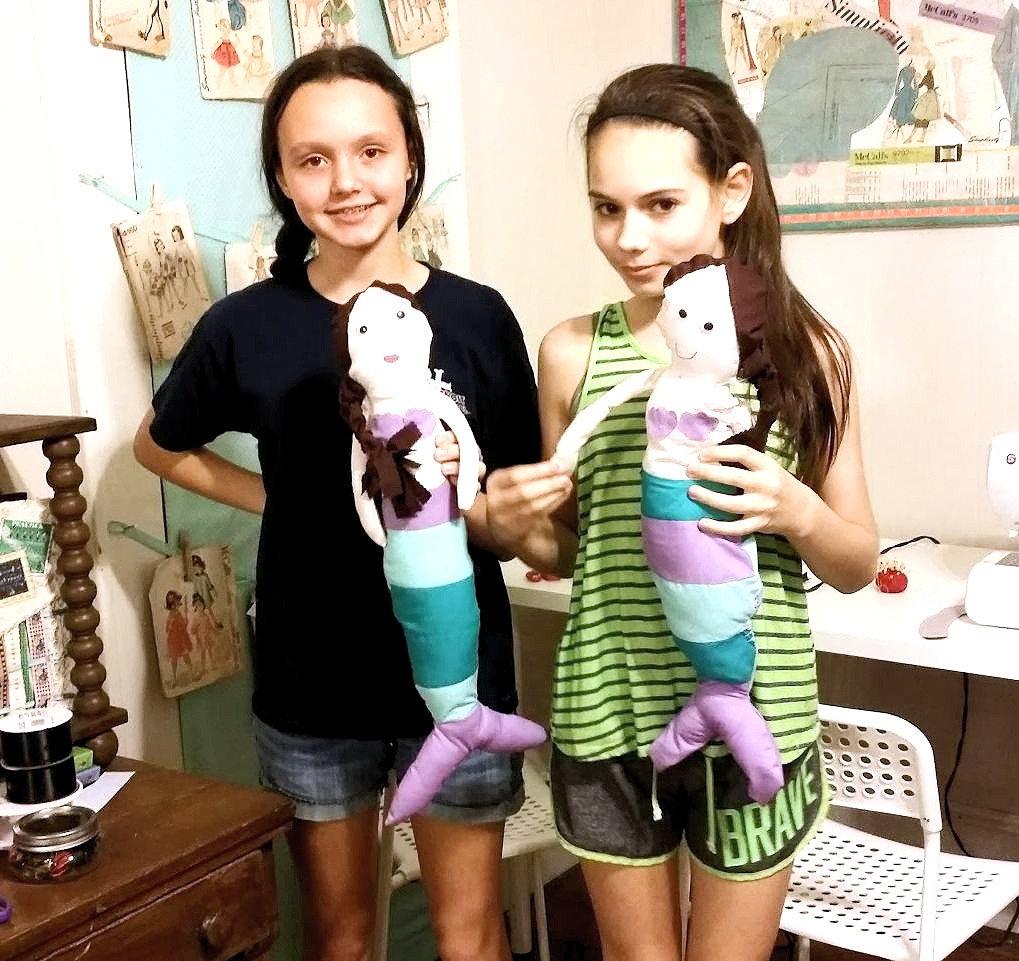 Mermaid Lagoon Kids' Sewing Camp