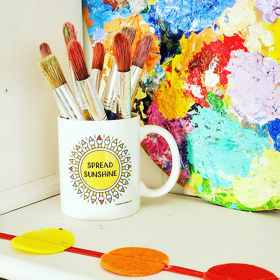Spread Sunshine Mug ~ Your Happy New Favorite!