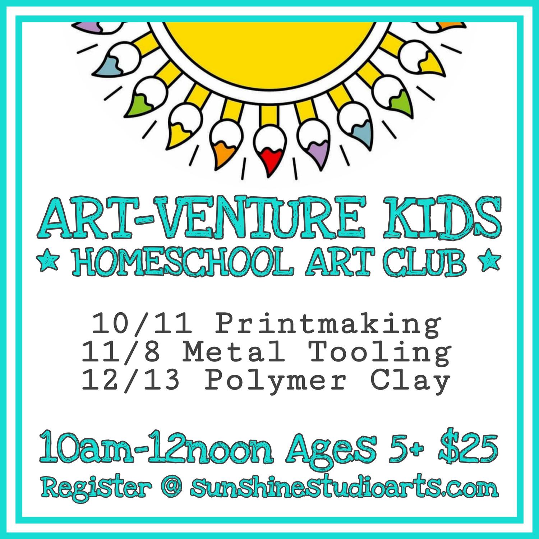 Art-Venture Kids - November 8th