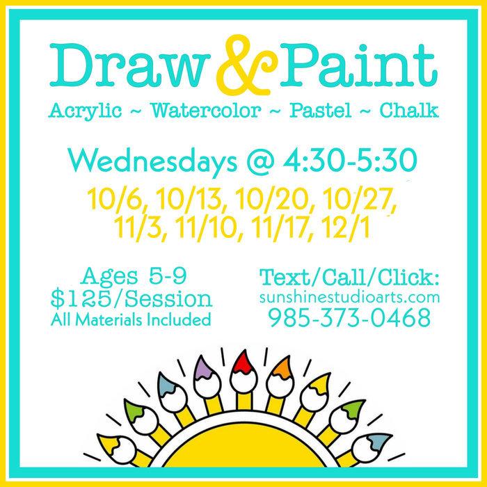 Art Explorers ~ Kids' Draw & Paint Class