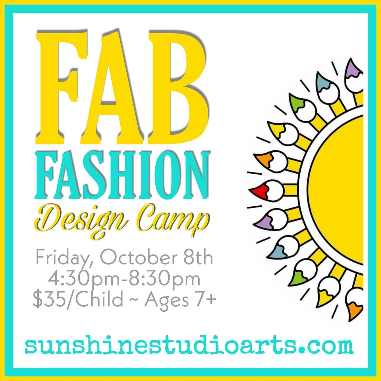 Fab Fashion Design Workshop