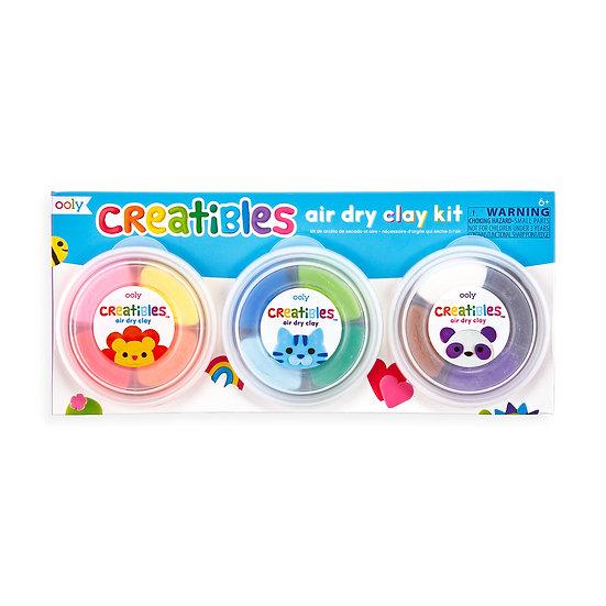 Creatibles Air Dry Clay Kit