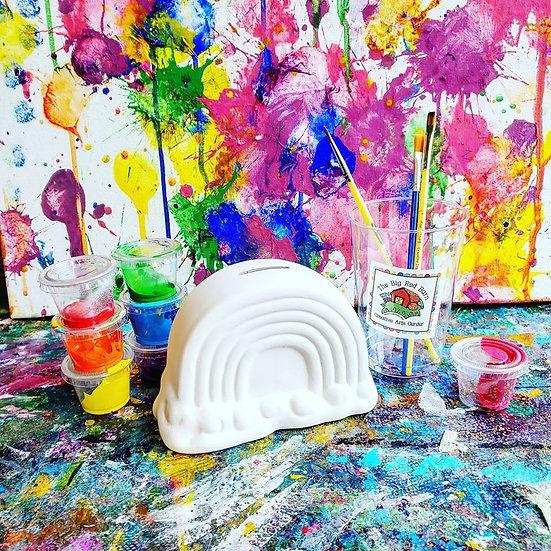 My Happy Rainbow ~ Ceramic Art Kit ~