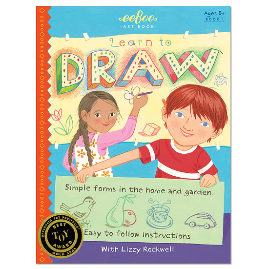 eeBoo Learn to Draw with Lizzy Rockwell