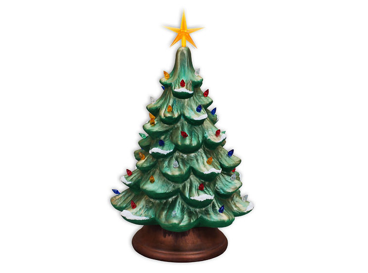 Sunshine Tree Farm Retro Lighted Tree Kit ~JUMBO~