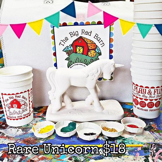 Lovely Rare Unicorn ~ Ceramic Art Kit ~