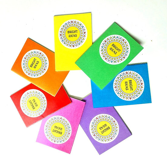 Bright Ideas Notebook ~Pick Your Color!~
