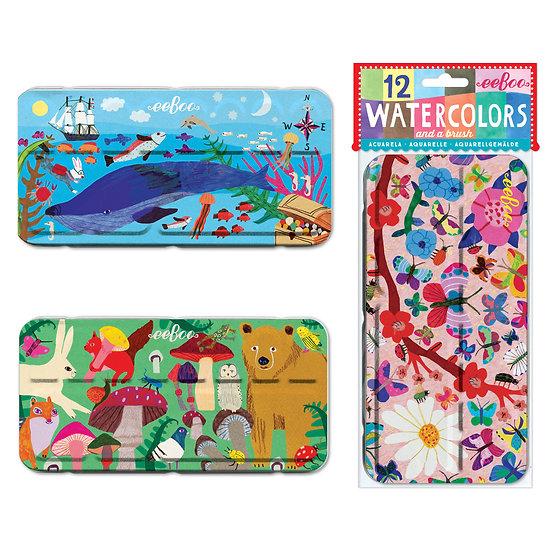 eeBoo Watercolor Tins - Your Choice