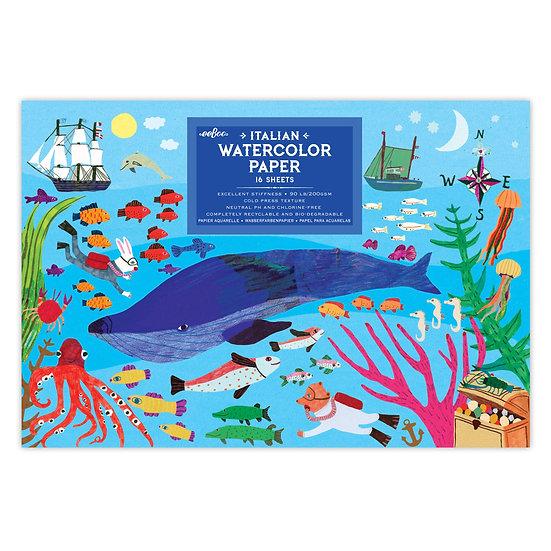eeBoo Watercolor Pad - Oceania