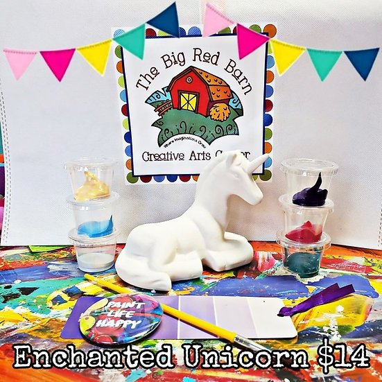 Enchanted Unicorn ~ Ceramic Art Kit ~