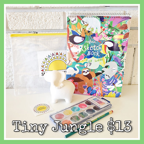 Tiny Jungle 🐘 Gift Package