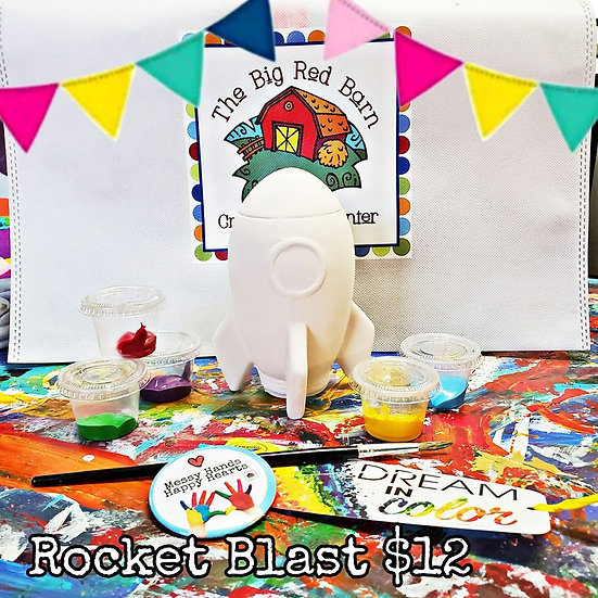 Rocket Blast! Art Kit