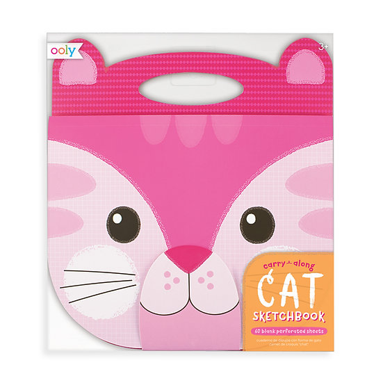 Carry-Along Sketchbook Cat