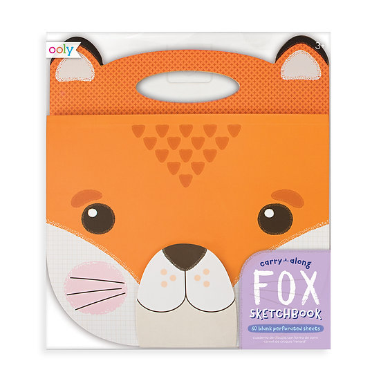 Carry-Along Sketchbook Fox