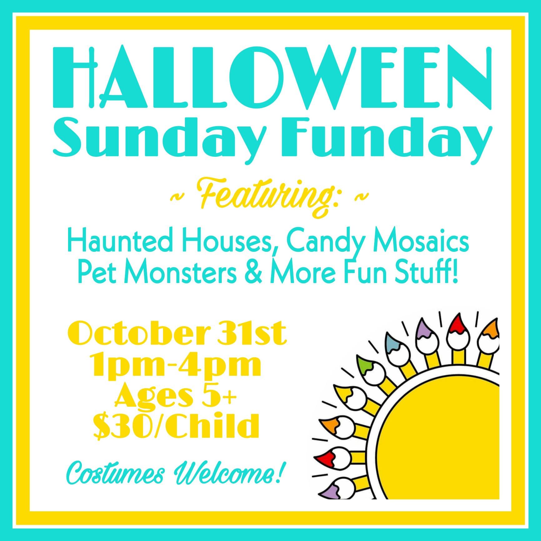 Halloween Sunday Funday