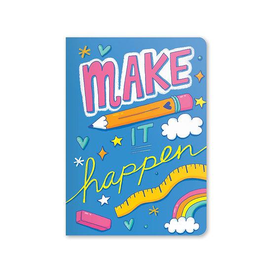 Make it Happen Jot-It Notebook